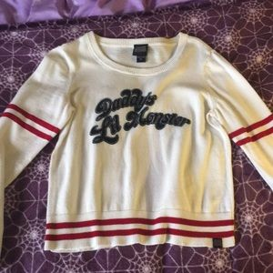 Harley Quinn Sweater Crop Top Suicide Squad